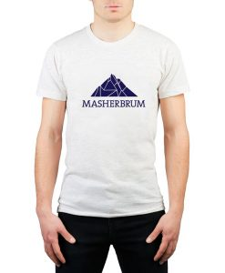 MEN'S MASHERBRUM VINTAGE LOGO T-SHIRT