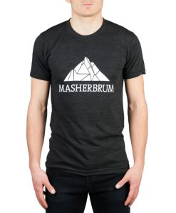T-shirt logo Masherbrum
