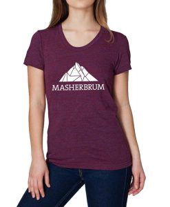 t-shirt-Masherbrum-femme-cranberry