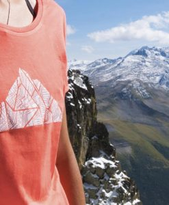 tshirt women climbing hiking alpinism