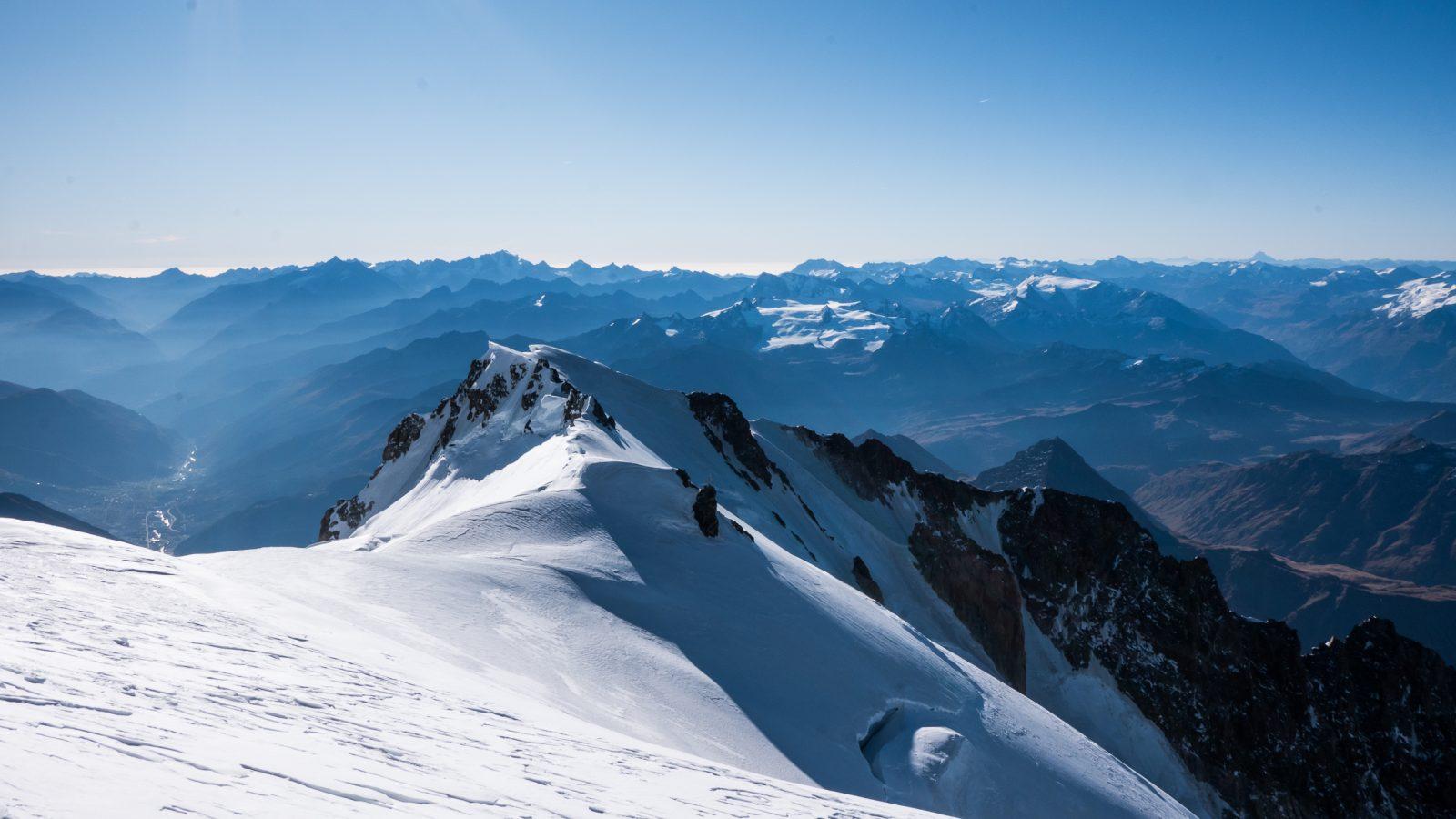 mont blanc bionnassay alpinisme arête
